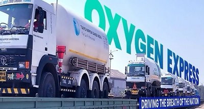 As a mission, more than 400 Oxygen Express completed the supply of oxygen across the country.